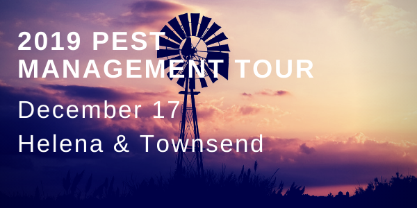 2019 Pest Management Tour rescheduled events