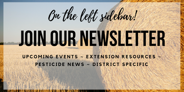 Join our quarterly newsletter by signing up on the left sidebar.