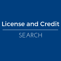 Pesticide License and Credit Search