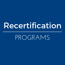 PAT Recertification Programs